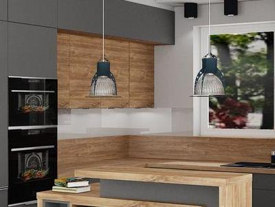 zabudowa kuchenna - projekty 12