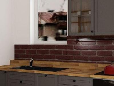 zabudowa kuchenna - projekty 20