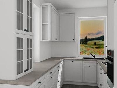 zabudowa kuchenna - projekty 21