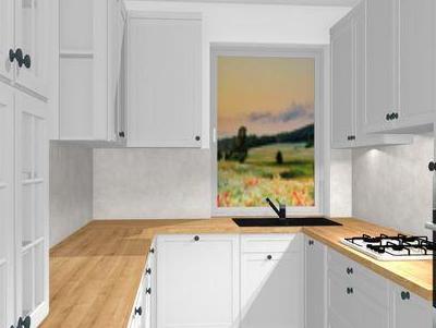 zabudowa kuchenna - projekty 22