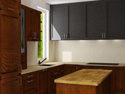 zabudowa kuchenna - projekty 29
