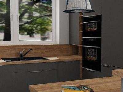 zabudowa kuchenna - projekty 3