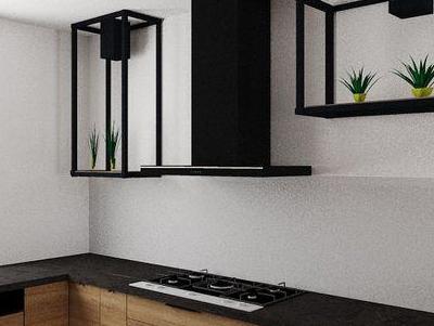 zabudowa kuchenna - projekty 30