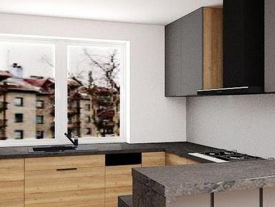 zabudowa kuchenna - projekty 31