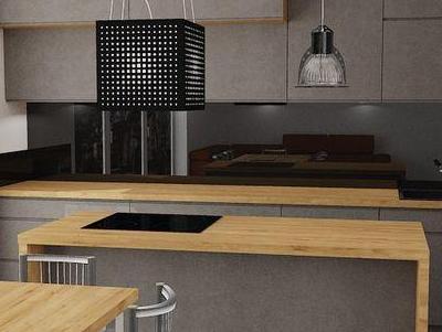 zabudowa kuchenna - projekty 38