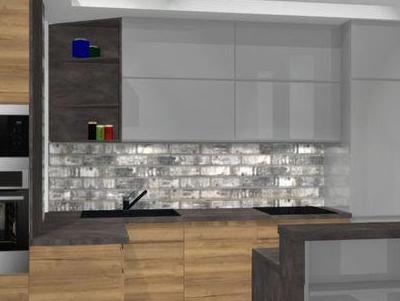 zabudowa kuchenna - projekty 42
