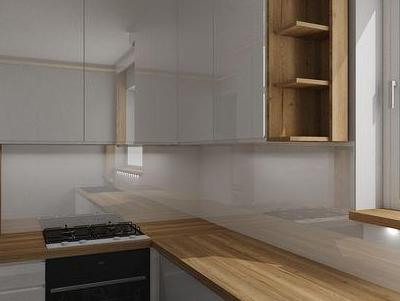 zabudowa kuchenna - projekty 44