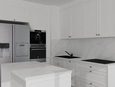 zabudowa kuchenna - projekty 45