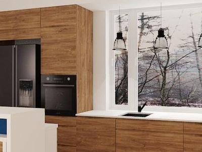 zabudowa kuchenna - projekty 46