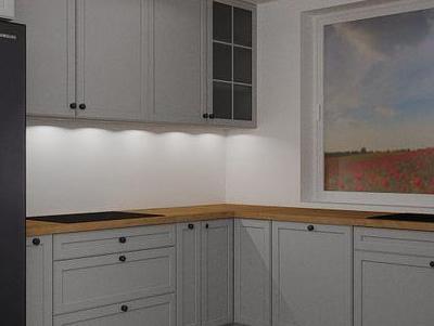 zabudowa kuchenna - projekty 47