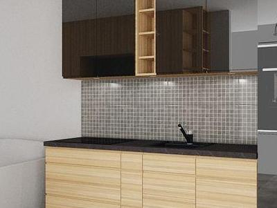 zabudowa kuchenna - projekty 48