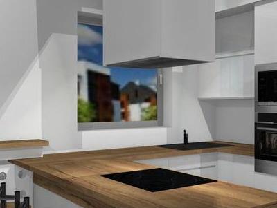 zabudowa kuchenna - projekty 50