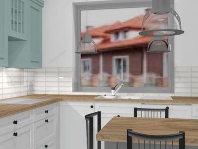 zabudowa kuchenna - projekty 51