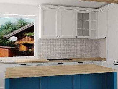 zabudowa kuchenna - projekty 6